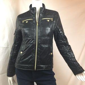 Ambition S moto puffer jacket black